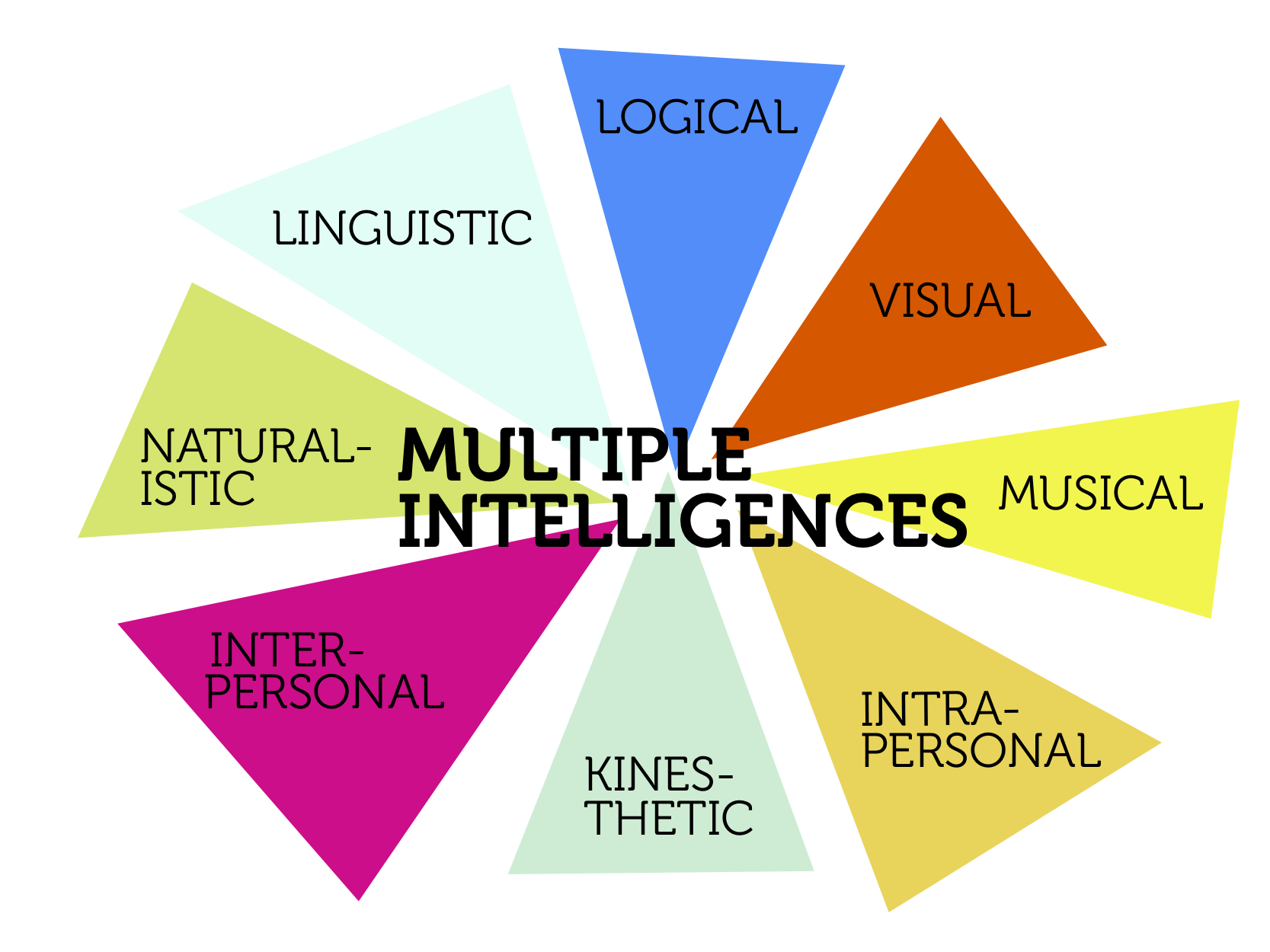 cognitive development multiple intelligences cognitive development theory:  piaget's view or the nature verses nurture discussion or gardener's multiple intelligences explain your answer when considering intelligence, piaget focuses on the mental processes that occur, rather than on the actual measure of the intellect.